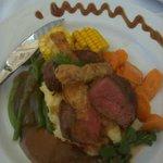Very tender Oryx steak at Street Cuisine, Windhoek