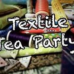 Textile Tea Party each Tuesday from 2pm