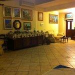Sala Ristorazione con ricco buffet per colazione
