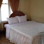 double bed in de luxe room