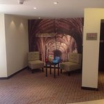 New reception area at Chippenham Premier Inn- Great Pictures