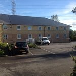 The extension of Chippenham Premier Inn