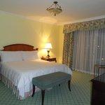 Bedroom of a lansdowne suite