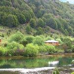La Casa de Campo vista desde la desembocadura del Lago Espolón