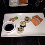 Cena con sushi