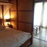 Budget villa room
