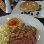 Desayuno buffette
