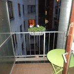 balcone privato
