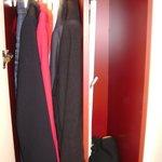 Liten garderob