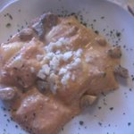 tortelli con formaggio e funghi