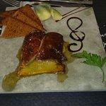 Escalopes foie gras ananas pain d'épices