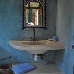 la salle de bains en tadelak
