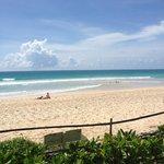 Kata Noi stranden...vid hotellet