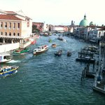 View of Grand Canal from our room