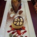 Chocolate slice.......understated I think