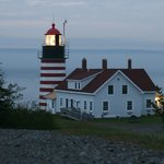 West Quoddy Light at sunrise