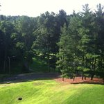 View from room of walking trails & golf course