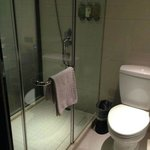 modern, elegant marble bathroom