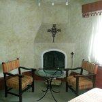 Guestroom Fireplace
