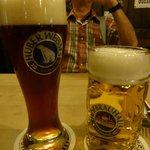 dark and light beers