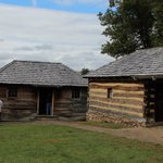 authentic reconstructed buildings--officers quarters?