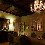 Insider the Henry White's restaurant