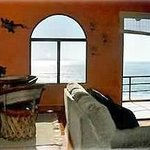 Another San Antonio del Mar rental, view from the living room, 3 BR home
