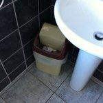 in 3 giorni nessuno e' venuto a cambiare il cestino nel bagno