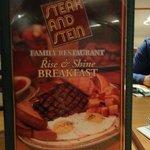 Front Menu - Breakfast