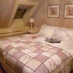 Double bedroom on top floor