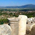 Kibyra ve Gölhisar manzarası