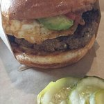 Caca Oxaca burger