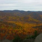 summit views of fall foilage