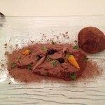 Chocolate dessert, very, very, very good