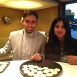 Ali Imdad from BBC Great British Bake Off 2013 visits Lime