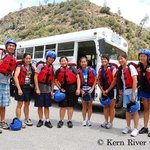 Kern River trips are great for family reunions