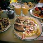 omelette al salmone