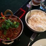 Lamb jalfrezi - it was not as hot as I wanted but incredibly tasty.
