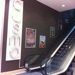 Escalator to Restaurant on second floor