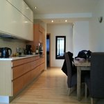 The kitchen in our apartment