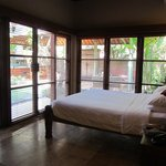 Villa A from bedroom