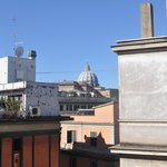 view of basilica from rooftop