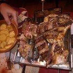 La parrillada para 2 (Y falta algo de carne que ya nos comimos!!!)