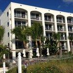 Oceanfront rooms with balconies