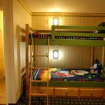 Bunk beds in kids room