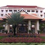 Front entrance of Royal Angkor Resort & Spa