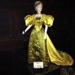 "One of the ""Petites Dame du Mode"" at Ventfort Hall"