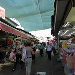 Local market within 5 minutes walk.