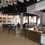 Located in the lower level of Alderney Landing