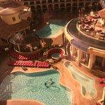 Heated pools